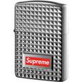 Supreme Diamond Cut Zippo - Silver
