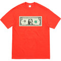 Supreme Dollar Tee - Bright Orange