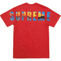 Supreme Crash Tee - Red