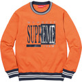 Supreme Team Crewneck - Bright Orange