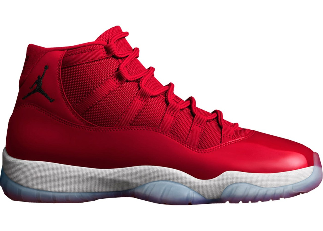 a916200c33f Nike Air Jordan 11 - Gym Red Win Like 96  378037-623. Image 1. Loading zoom