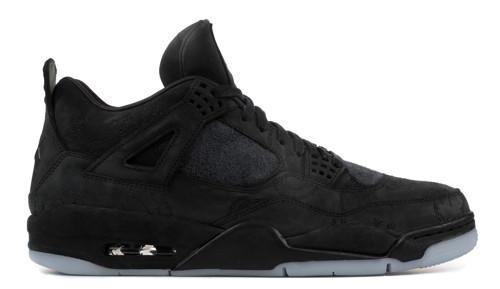 39e459acd598 Nike Air Jordan 4 x Kaws - Black  930155-001. Image 1. Loading zoom