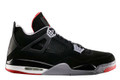 Nike Air Jordan 4 GS - Black Cement #408452-089