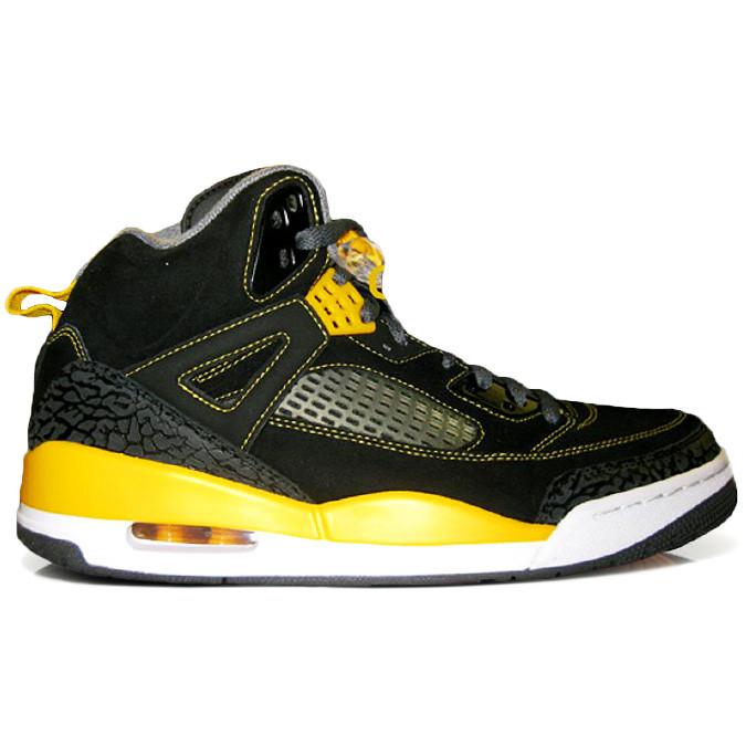 53f8ecabb5b6f5 Nike Air Jordan Spiz ike - Black University Gold  315371-030. Image 1.  Loading zoom