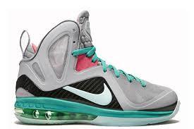 meet 23096 874f8 Nike Lebron 9 - Miami Vice South Beach  516958-001. Image 1. Loading zoom
