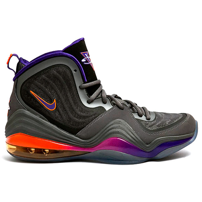 new style 4a510 40277 Nike Air Penny V Suns - Dark Grey Court Purple-Black-Rave Pink  537331-070.  Image 1. Loading zoom