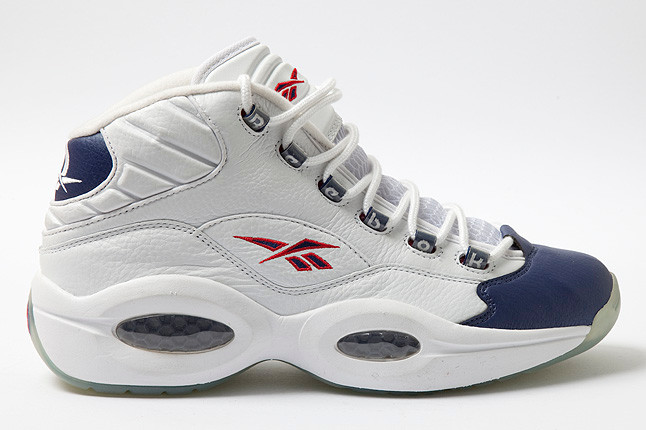 Reebok Question - White/Pearlized Navy