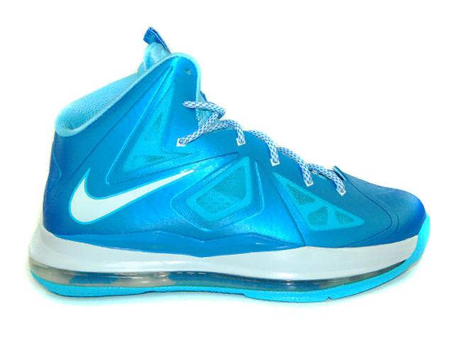 d46d9eadba62 Nike Lebron 10+ Sports Pack - Blue Diamond  542244-400. Image 1. Loading  zoom