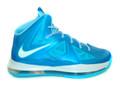 Nike Lebron 10+ - Blue Diamond #598360-400