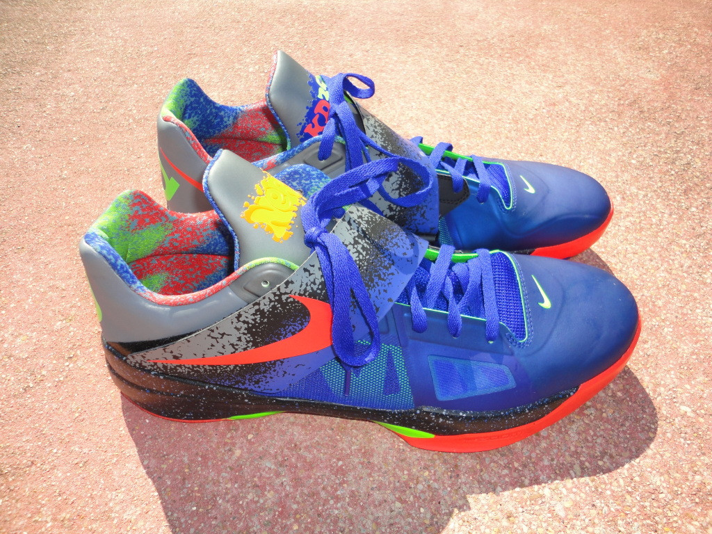 check out 23939 40a1b Nike Zoom KD IV - Nerf PE Size 17 - The Sole Closet