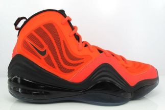 best service bc68a 02877 Nike Air Penny V - Crimson  537331-800 - The Sole Closet