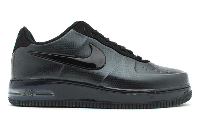 cheap for discount 82089 f140a Nike Air Force 1 Foamposite Low - Black Snake 532461-002. Image 1. Loading  zoom