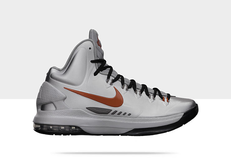 100% authentic 6f74f 5d736 Nike Zoom KD V - Texas Longhorns  554988-002 - The Sole Closet