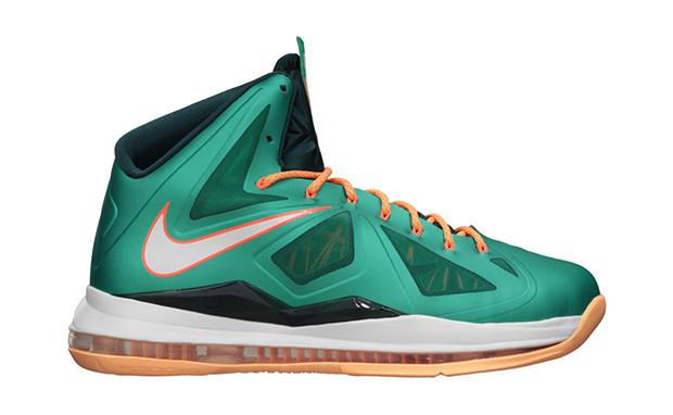 65ed52b6ad3d Nike Lebron 10 - Dolphins  541100-302. Image 1. Loading zoom