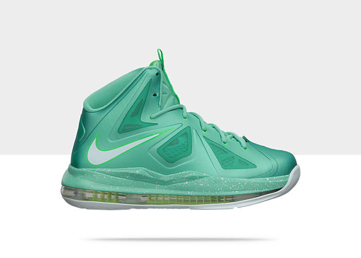 outlet store 546f2 48cd8 Nike Lebron 10 GS - Easter  543564-303. Image 1. Loading zoom