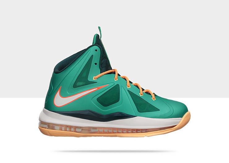 2061fc45c38 Nike Lebron 10 GS - Dolphins  543564-302. Image 1. Loading zoom