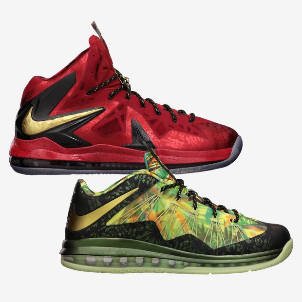 56ba2c1c4 Nike Lebron X - Celebration Pack  628622-900 - The Sole Closet