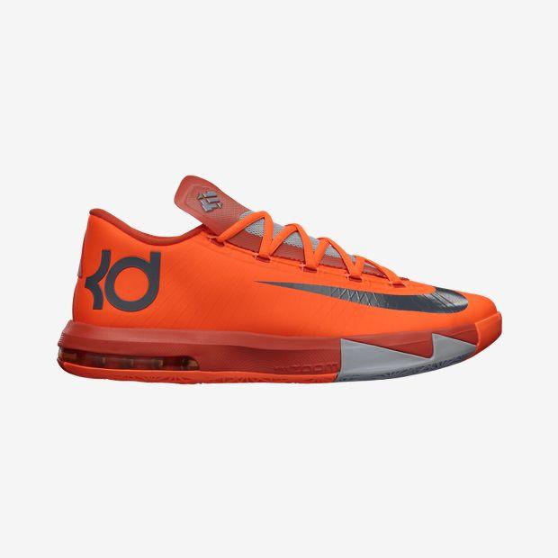 newest 84f0b af2cf Nike KD VI - Total Orange  599424-800. Image 1. Loading zoom