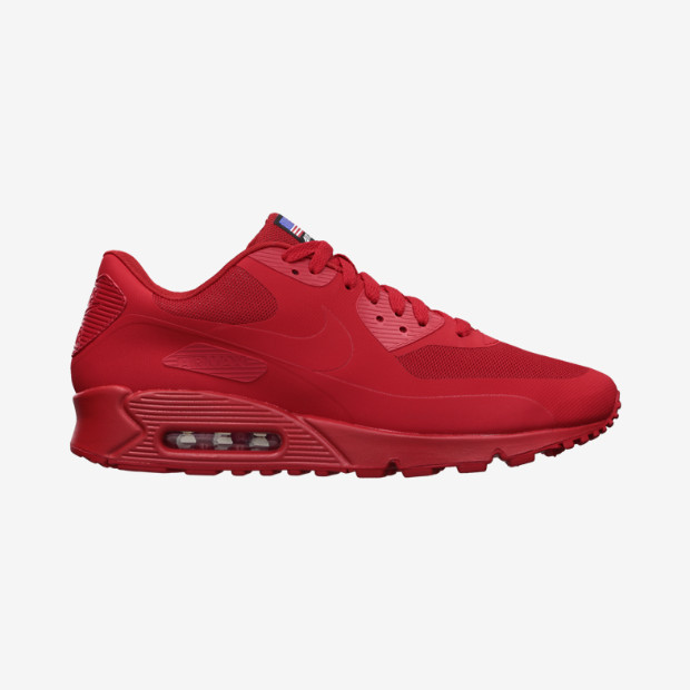 pretty nice f2840 29990 Nike Air Max 90 Hyperfuse - Independence Day Pack  613841-660. Image 1.  Loading zoom