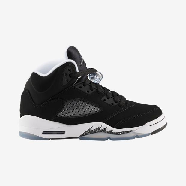 84bdef877c8f Nike Air Jordan 5 GS - Oreo  440888-035. Image 1. Loading zoom