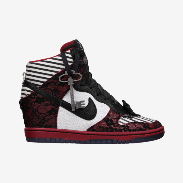 new style f6877 39ea3 Nike Women s Dunk Sky Hi - Doernbecher  639396-061 - The Sole Closet