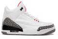 Nike Air Jordan 3 - White Cement #136064-105