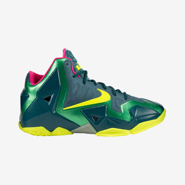 Nike Lebron XI GS - T-Rex  621712-300 - The Sole Closet 8b4414d03a