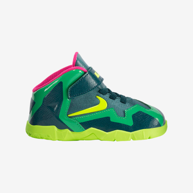 super popular 5b186 e5bb7 Nike Lebron XI Toddlers - T-Rex 621714-300. Image 1. Loading zoom