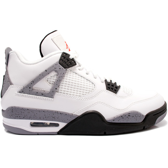 c19f9f657d4c Nike Air Jordan 4 - White Cement  308497-103 - The Sole Closet
