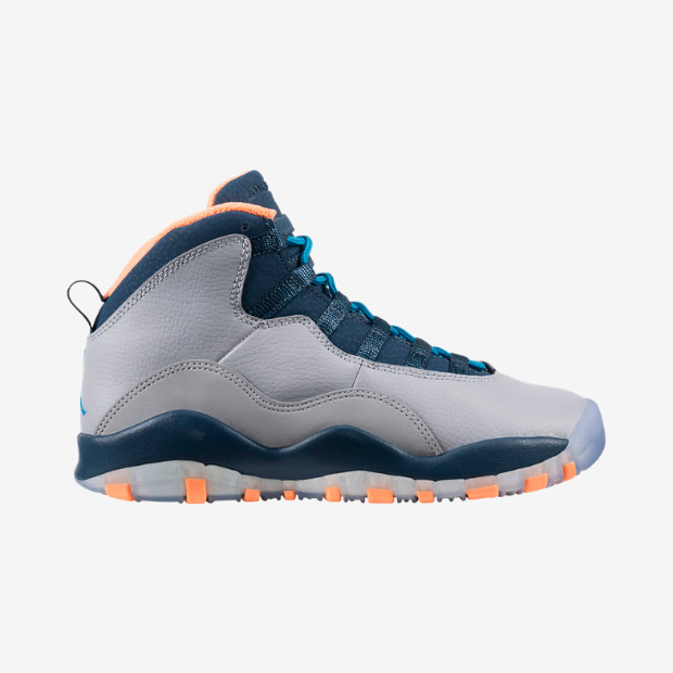 fbe14b88ec80 Nike Air Jordan 10 GS - Bobcats  310806-026 - The Sole Closet