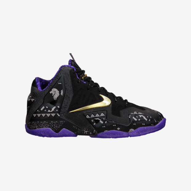 new concept 606dc 656a5 Nike Lebron XI GS - BHM 621712-005. Image 1. Loading zoom