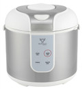 Buffalo Rice Cooker: 5-Cup with stainless steel inner pot