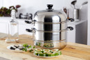 Charms Stainless-Steel Steamer 3-Layers 2-Trays |28JCC13| 28cm
