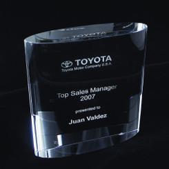 Crystal Curve Award