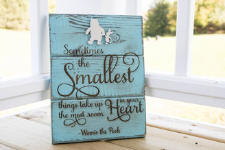 Personalized Rustic Wood Plank Sign