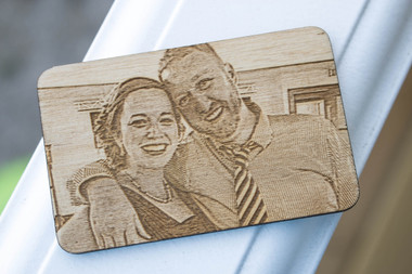 Photo Engraved Wallet Card