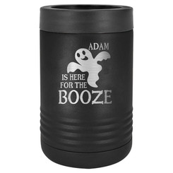 "Personalized ""Here for the Booze"" Beverage Holder"