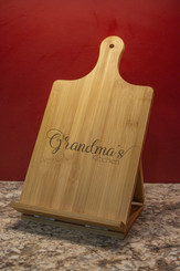 Personalized Cook Book & Tablet Stand