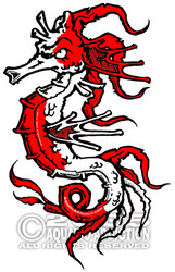DECAL - SEAHORSE