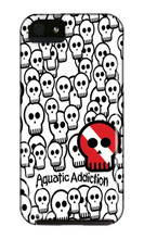 Skullified (White) iPhone Cases