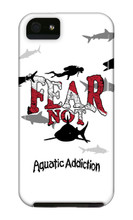 Dive Fear Not iPhone Cases
