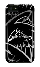 Fishing Logo (black) iPhone Cases