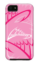 Fishing Logo (pink) iPhone Cases