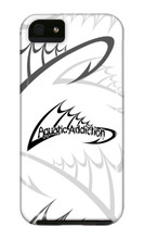 Fishing Logo (white) iPhone Cases