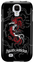 Tribal Seahorse (black) for Samsung Galaxy S3, S4, S5, Note 2 Cases