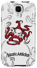 Tribal Octo (white) for Samsung Galaxy S3, S4, S5, Note 2 Cases