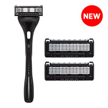 KOS-5 Blade Razor with Precision Trimmer & 2 replacement cartridges