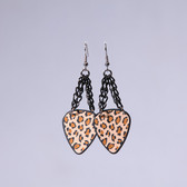 Chick Rock I Leopard Brown Earrings