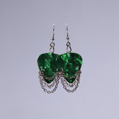 Hard Rock l Fender Green Earrings