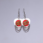 Hard Rock l Santa Cruz White Earrings